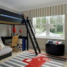 Area Rug Kids Child Teen Grey Red Old Truck Stripe Large Carpet Playroom 5 X 8 Ebay