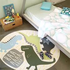 120cm Cartoon Dinosaur Play Mat Carpet For Boys Bedroom Rugs Kids Room Decoration Nordic Crawling Blanket Non Slip Baby Game Mat Buy At The Price Of 34 54 In Aliexpress Com Imall Com