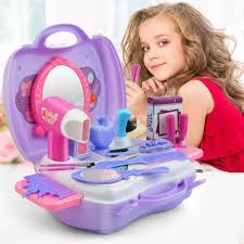 pretend play cosmetic makeup toy set