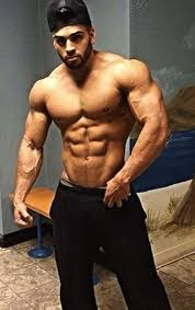 fitness model workout routine male