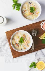 Classic Seafood Chowder • Brittany Stager