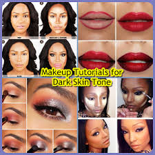 makeup tutorials for dark skin