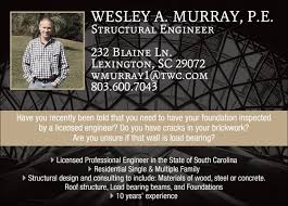 Christians In Business - Wesley A. Murray Structural Engineering - Details