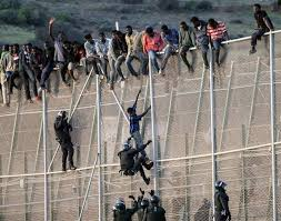 North Africa Dozens Climb Border Fence Into Spanish Enclave Infomigrants