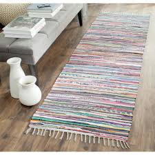 safavieh rag rug gray multi 2 ft x 12