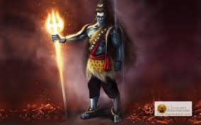 angry hd wallpapers of lord shiva