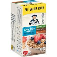 quaker instant oatmeal fruit cream