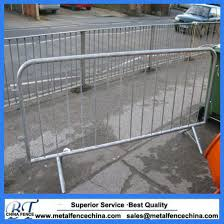 China Safety Metal Fence Pedestrian Traffic Temporary Crowd Control Barrier China Temporary Fence Barrier Bike Rack Barricade
