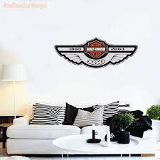 Harley Davidson 100 Years Logo Wall Decal Vinyl Sticker Krafmatics