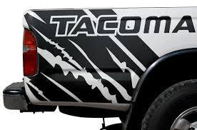 Toyota Tacoma 1995 2004 Custom Vinyl Decal Wrap Kit Tacoma Quarter Factory Crafts