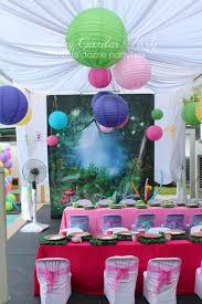 themed birthday party fairy garden