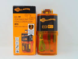 Gallagher B10 Battery Electric Fence Charger Free Energizer Shipping Gallagher Fence Electric Fencing Grazing Supplies Livestock Scales Pasture Management Solutions