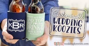 wedding koozies personalized koozies