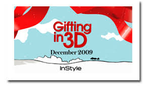 instyle taps 3 d technology for special