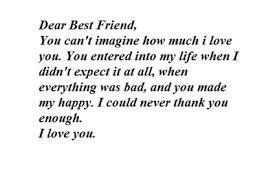 dear best friend tumblr