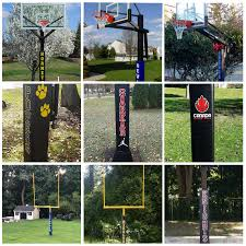 Customized Decals For Your Pole Pad An Easy Way To Make A Big Statem Home Court Hoops