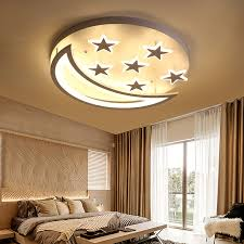 China Modern Lamp Star And Moon Children Kids Room Bedroom Living Room Chandelier Lighting Wh Ma 100 China Energy Saving Lamp Round Ceiling Lights