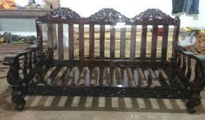 brown rosewood sofa set rs 75000 set