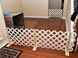 Pvc Free Standing Gated Fence Diy Google Search Diy Dog Gate Indoor Dog Fence Diy Dog Fence