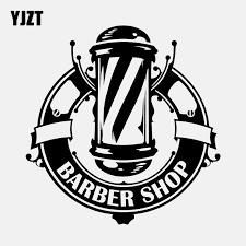 Yjzt 13 5cm 13 8cm Hair Hairdressing Salon Barbershop Vinyl High Quality Car Sticker C22 0264 Car Stickers Aliexpress