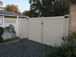 Choosing The Right Vinyl Gate For Your Yard Superior Fence Rail Inc
