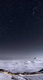 night iphone x stars wallpaper 2020