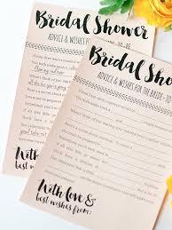 printable bridal shower games to diy