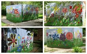 The Art Room 05 27 11 Fence Art Flower Fence Garden Art Projects