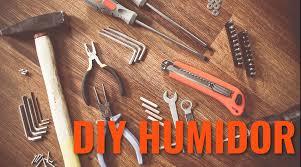 make your own humidor irobusto