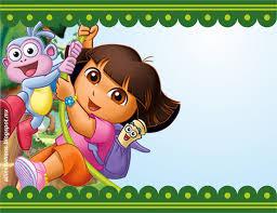 Invitaciones De Cumpleanos De Dora La Exploradora En Hd Gratis