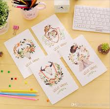 2020 cute mini vine flower notebook