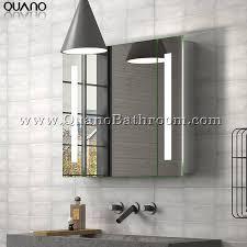illuminated mirror medicine cabinet