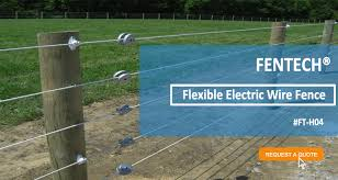 Fentece High Tensile Electric Fence Wire View Electric Fence Fentech Product Details From Linan Fentech Fence Products Co Ltd On Alibaba Com
