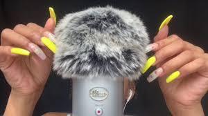 asmr 1 hr of fluffy mic scratching