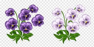 purple and light purple flower bouquets