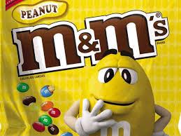 m m peanut cans nutrition facts