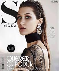 bella hadid on insram new s moda