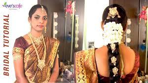 bridal makeup tutorial south indian