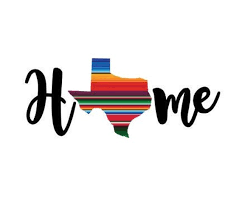 Serape Pattern State Home Decal Texas Any State Sticker Etsy