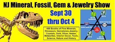 nj mineral fossil gem jewelry show