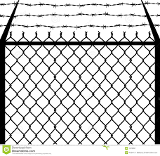 Chain Barbed Stock Vector Illustration Of Sharp Raster 1076891