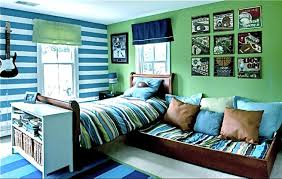 Kids Turquoise And Orange Bedding All Work Photos Transitional Blue Green Boy S Room Boys Room Bright Colors Colorful Kid S Colorful Kids