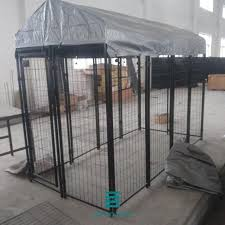 Customized Welded Wire Mesh Fence Panels Black Color Rigid Welded Type