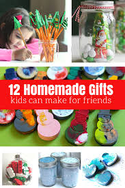 12 homemade gifts kids can help make