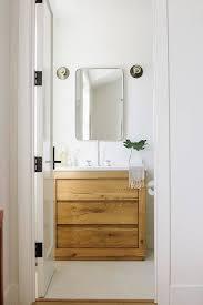 bathroom vanity mirrors rustic wood