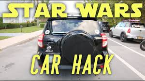 Star Wars Lightsaber Car Hack Youtube