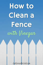 How To Clean A Vinyl Fence Vinyl Fence Diy Green Cleaners Green Living Tips