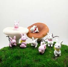 2019 cute rabbit mini animals miniature