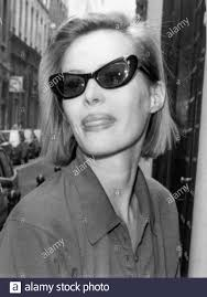 French Actress Gabrielle Lazure, Lyon, 90ies, France Stock Photo ...