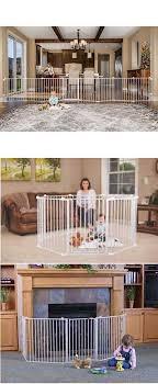Baby Pet Dog Extra Wide Safety Metal Gate Playpen Indoor Outdoor Child Fence Mykidsupplies Child Fence Baby Safety Gate Baby Animals